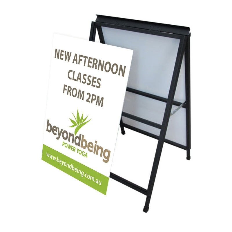A-Frame Signs - Corflute Insert Included (changeable) - Sign Up ...