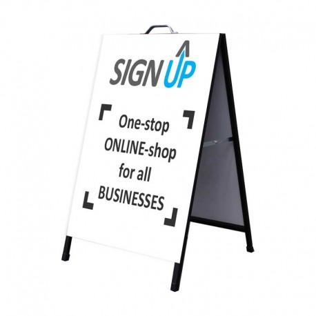 A-Frame Signs - with Digital Print - Sign Up | Perth Online Signage
