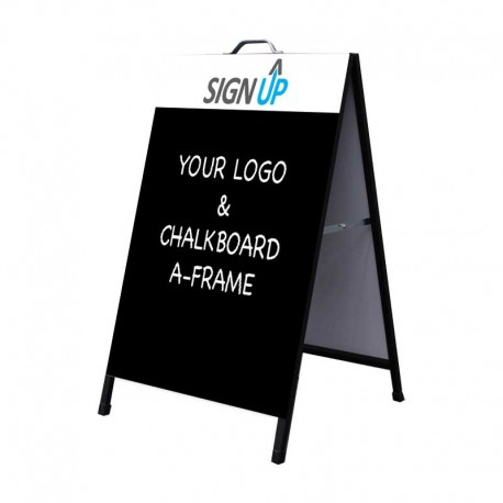 A-Frame Signs with Chalkboard
