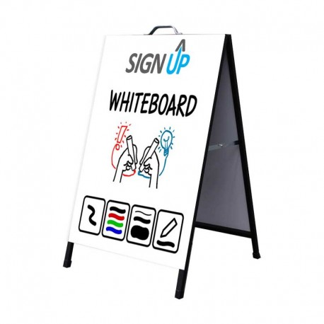 A-Frame Signs - with Whiteboard - Sign Up | Perth Online Signage