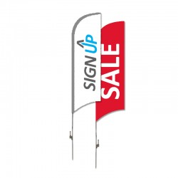 Fabric Flag Banner - Wing