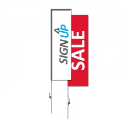Fabric Flag Banner - Rectangle