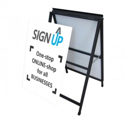 A-Frame Signs - Corflute Insert Included (changeable)